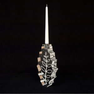 Infinity Leaf Kerzenhalter groß