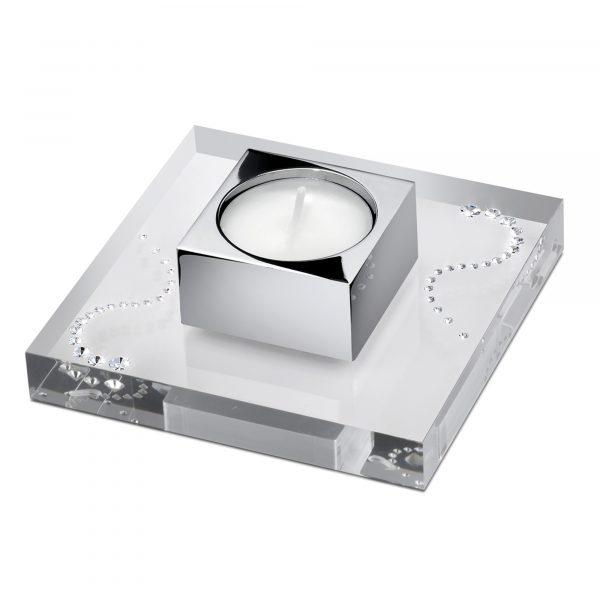 Fusion Teelicht Square